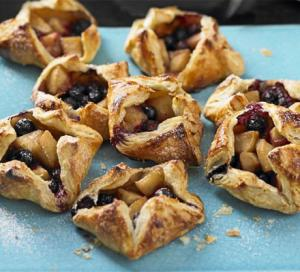 Image for Apple and Blueberry Danishes