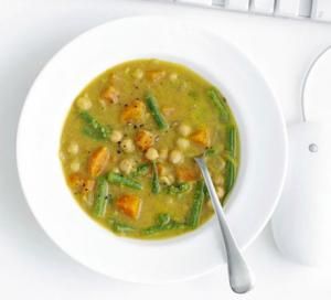 Image for Indian chickpea & vegetable soup