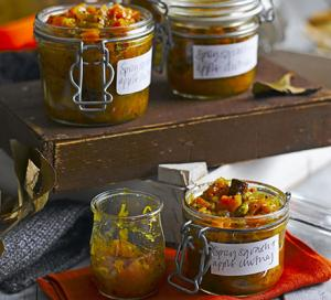Image for Spicy squash & apple chutney