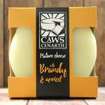 Image for Caws Cenarth Mature Cheddar With Brandy & Apricot