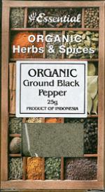 Image for Pepper Ground Black - Dried